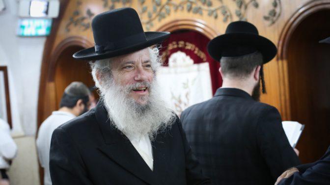 ראש עיריית בני-ברק חנוך זייברט (צילום: דוד כהן)