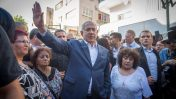 ראש הממשלה בנימין נתניהו מסייר בדרום תל-אביב, 31.8.17 (צילום: מרים אלסטר)