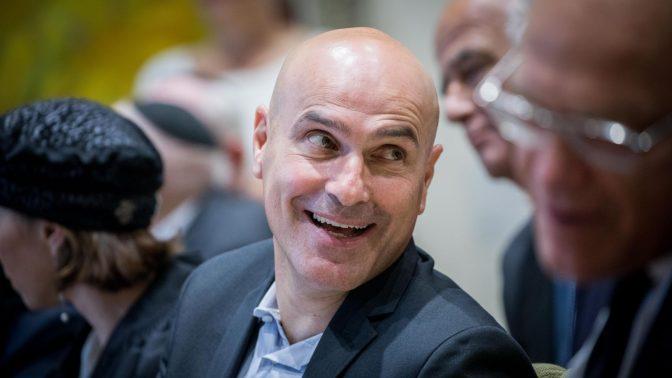 """יו""""ר לשכת-עורכי הדין, עו""""ד אפי נוה (צילום: יונתן זינדל)"""