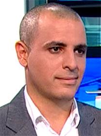 """רותם דנון, עורך """"אולפן שישי"""" (צילום מסך)"""