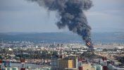 """שריפה בבז""""ן, דצמבר 2016 (צילום: אילן מלסטר, המשרד להגנת הסביבה)"""