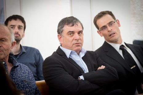 שלמה פילבר (במרכז), מאי 2017 (צילום: מרים אלסטר)