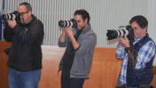 """צלמי עיתונות בדיון בבג""""ץ באלימות משטרתית נגד עיתונאים, 4.2.2018 (צילום: אורן פרסיקו)"""