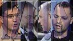 """מימין: אלכסנדר גולדנשטיין, העורך האחרון של """"יזרוס"""", מו""""ל """"ידיעות אחרונות"""" ארנון (נוני) מוזס, יו""""ר ישראל-ביתנו אביגדור ליברמן ומיכאל פלקוב, מייסד """"יזרוס"""" (צילומים: פלאש 90 וצילומי מסך)"""