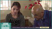 """ריאד עלי מראיין את רינאל סייף, אלמנתו של רס""""מ זידאן סייף ז""""ל, """"חדשות השבת"""" בכאן11 (צילום מסך)"""