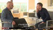 """משה קלוגהפט ועמית סגל, מתוך """"חדשות סוף השבוע"""", 24.3.18 (צילום מסך)"""