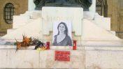 אנדרטה זמנית לזכרה של דפנה קרואנה גליציה (צילום: Continentaleurope, רישיון CC BY-SA 4.0)