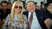 שלדון אדלסון ורעייתו מרים אדלסון באוניברסיטת אריאל, 28.6.2017 (צילום: בן דורי)