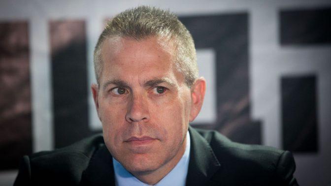 Strategic Affairs Minister Gilad Erdan. photo by Yonatan Sindel