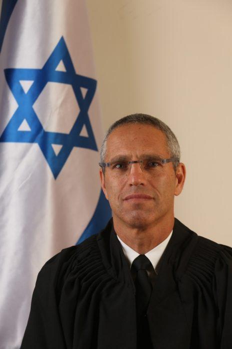 השופט גלעד הס (צילום: דוברות בתי-המשפט)