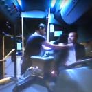 נהג אגד תעבורה מוחמד עבאסי מותקף על ידי נוסעים (צילום מסך)
