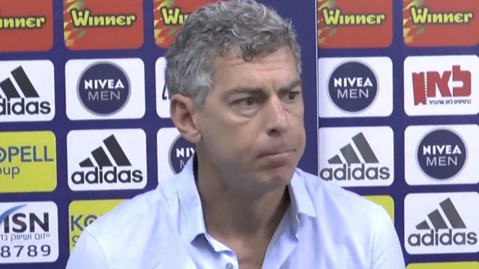 המיליארדר מיטש גולדהאר (צילום מסך מתוך ערוץ היוטיוב של מכבי תל-אביב בכדורגל)