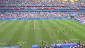 שוודיה נגד אנגליה, מונדיאל 2018 (צילום מסך: כאן תאגיד השידור)