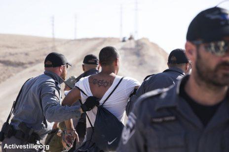 מעצר בחאן אל-אחמר, 5.7.18, צילום של אורן זיו / אקטיבסטילס