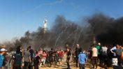 הפגנות בגבול הרצועה, 20.7.18 (צילום: עבד רחים כתיב)