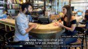 """התזונאית אביה בן-אליאב וכתב חברת החדשות לירן שבתאי ב""""תוכנית הכלכלית"""" של חברת החדשות (צילום מסך)"""