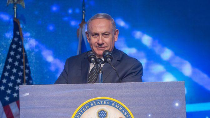 ראש ממשלת ישראל בנימין נתניהו, יולי 2018 (צילום: מרים אלסטר)