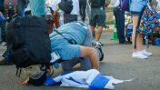 עולים חדשים עם נחיתתם בישראל, השבוע (צילום: יהודה חיים)