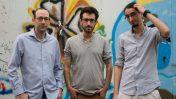 """חברי מערכת """"העין השביעית"""": איתמר ב""""ז, שוקי טאוסיג ואורן פרסיקו (צילום: שרון כהן-שטורם)"""