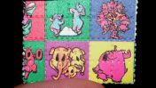 נייר ספוג LSD (צילום: Psychonaught, נחלת הכלל)