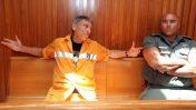 חנן גולדבלט במהלך דיון בערעורו על הרשעתו באונס ועבירות נוספות. בית-המשפט העליון, 5.7.2010 (צילום: יוסי זמיר)