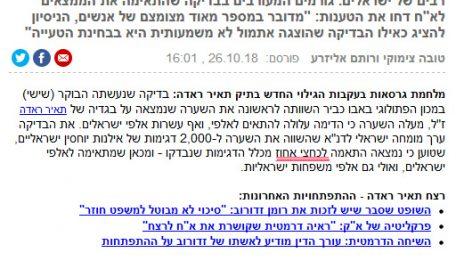 """""""כחצי אחוז"""" (מתוך הכתבה ב-ynet)"""