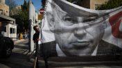 הפגנה נגד ראש הממשלה בנימין נתניהו מול מעונו הרשמי בירושלים, 5.10.2018 (צילום: הדס פרוש)