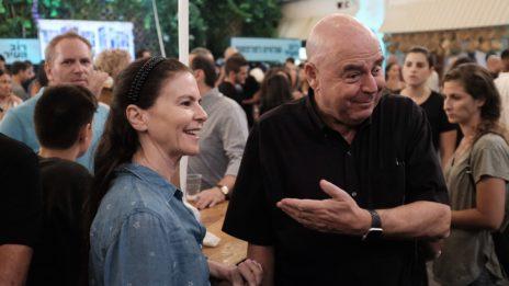 אירוע תמיכה באסף זמיר, 6.10.2018 (צילום: תומר נויברג)