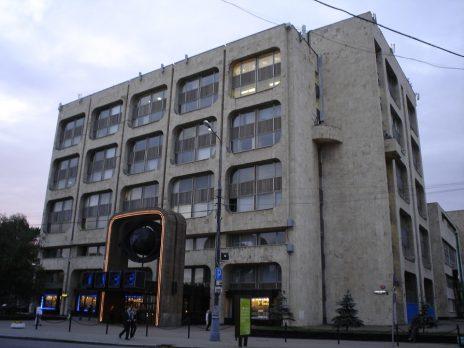 בניין מערכת TASS במוסקבה (צילום: Robert Wielgórski, Barry Kent, רישיון CC BY-SA 3.0)