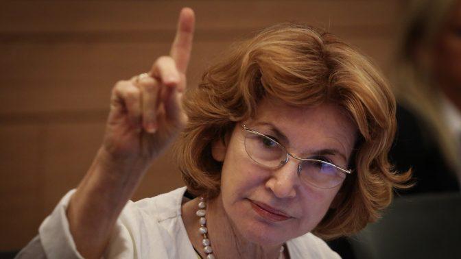 """ח""""כ יעל גרמן בכנסת, 2015 (צילום: הדס פרוש)"""