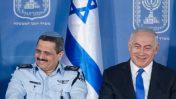"""ראש הממשלה בנימין נתניהו והמפכ""""ל רוני אלשיך, 3.12.15 (צילום: מרים אלסטר)"""