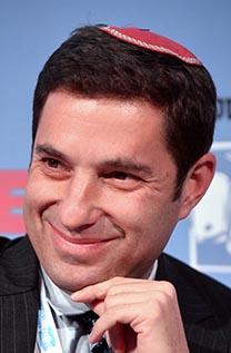 בנימין זומר, המנהל בישראל מטעם נובל-אנרג'י (צילום: פלאש 90)