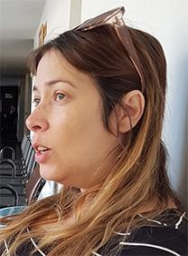 שרון שפורר בבית-משפט השלום בתל-אביב, 23.12.2018 (צילום: אורן פרסיקו)