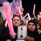 הפגנה במחאה על אלימות נגד נשים, תל אביב, 4.12.2018 (צילום: מרים אלסטר)