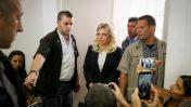 שרה נתניהו בבית המשפט בירושלים (צילום: עמית שאבי/פלאש90)