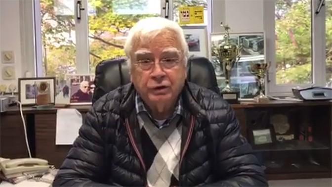 ראש עיריית קרית-מוצקין חיים צורי (צילום מסך)
