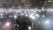 מחאת יוצאי אתיופיה, תל-אביב, 30.1.19 (צילום: תומר ניוברג)