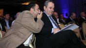 יוסי לוי עם אהוד ברק, דצמבר 2008 (צילום: משה שי)