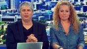 אורלי וילנאי וגיא מרוז (צילום מסך)