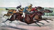 מירוץ סוסים (איור: kaz, רשיון CC0)