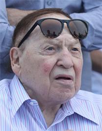 """שלדון אדלסון, הבעלים של """"ישראל היום"""" (צילום: יוסי זמיר)"""