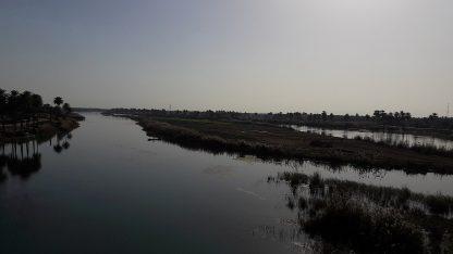 נהר הפרת, עיראק (צילום: Farhadmirza, רישיון CC BY-SA 4.0)