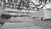 """בית אגרון בירושלים, משכנה לשעבר של לשכת העיתונות הממשלתית (צילום: משה מילנר, לע""""מ)"""