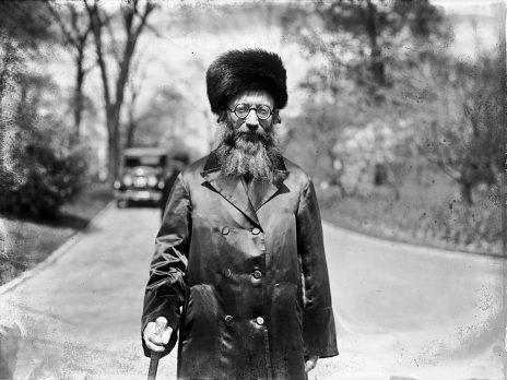 הרב אברהם יצחק הכהן קוק, 1924 (צילום: ספריית הקונגרס, נחלת הכלל)