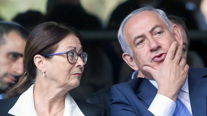 ראש הממשלה בנימין נתניהו ונשיאת בית המשפט העליון אסתר חיות (צילום: מארק ישראל סלם)