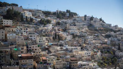 שכונת סילואן, מזרח ירושלים (צילום: יונתן זינדל)