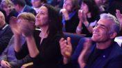 """ליהיא ויאיר לפיד בכנס בחירות של """"יש עתיד"""", ינואר 2019 (צילום: גילי יערי)"""