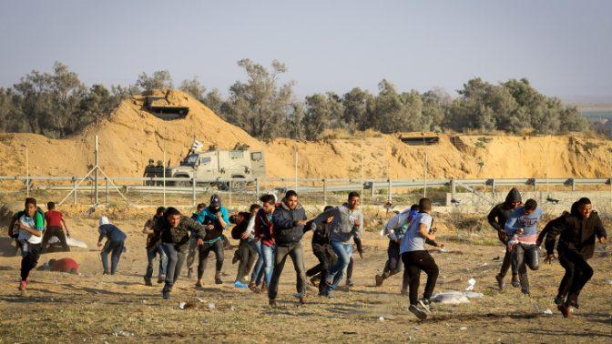 הפגנות בגבול הרצועה, 19.4.19 (עבד רחים כתיב)