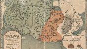 מפת שבטי ישראל (איור: אהרן בן חיים מגרודנו)