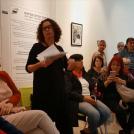 """פתיחת התערוכה """"נשים יוצרות מציאות – מחווה לוותיקות העיר ראשון לציון"""" (צילום מסך)"""